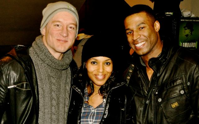 Bill Dawes, Kerry Washington, Robert Christopher Riley (Photo: www.sulltography.com)