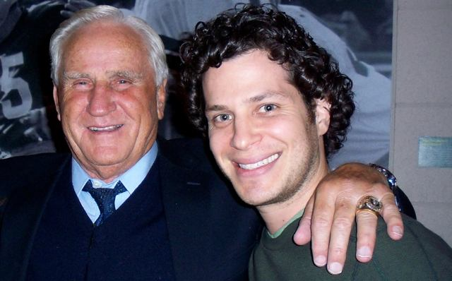 Don Shula and director Tommy Kail