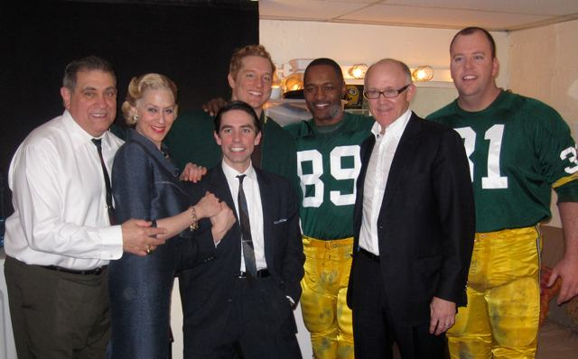 New York Jets Owner Woody Johnson and the cast.