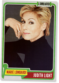 JUDITH LIGHT - Marie Lombardi