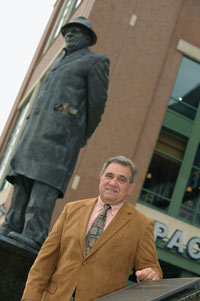 Dan Lauria and Vince Lombardi